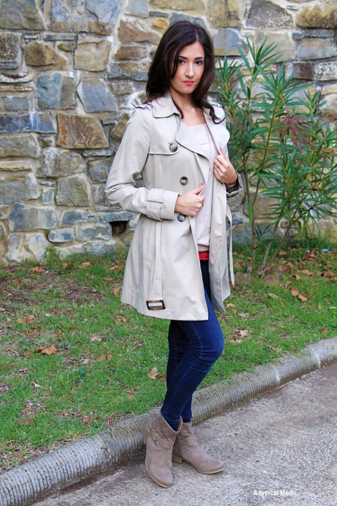 outfit trench fashion blogger