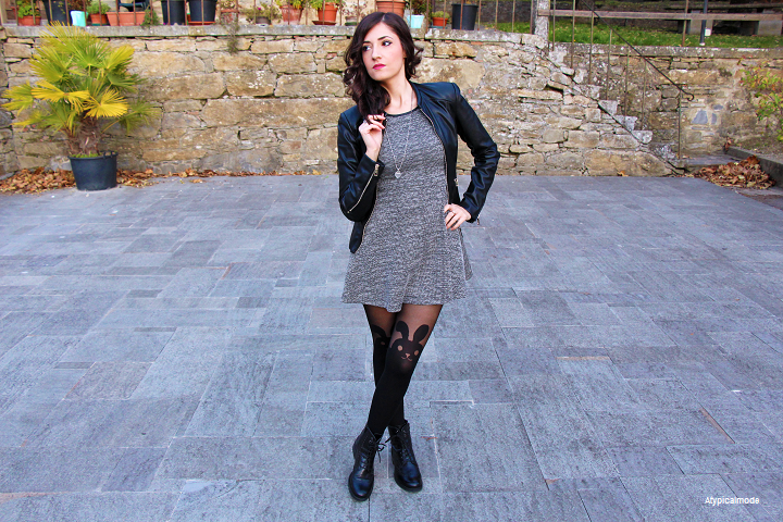 Outfit con calze collant parigine Calzedonia