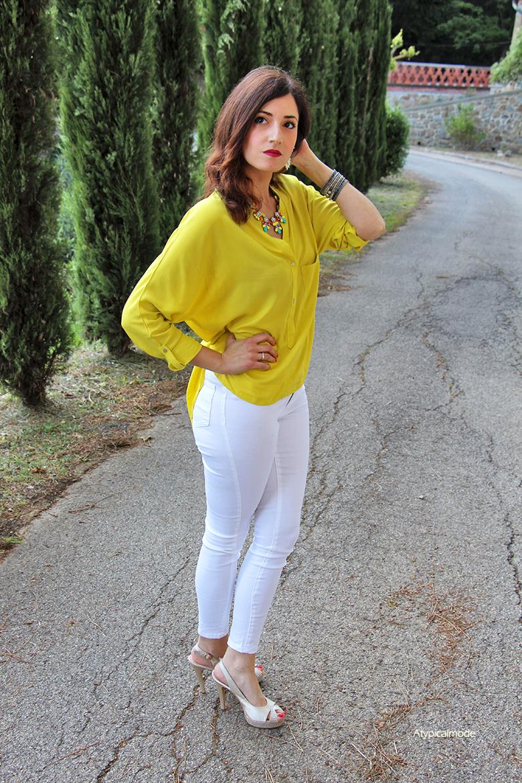 outfit giallo 2016