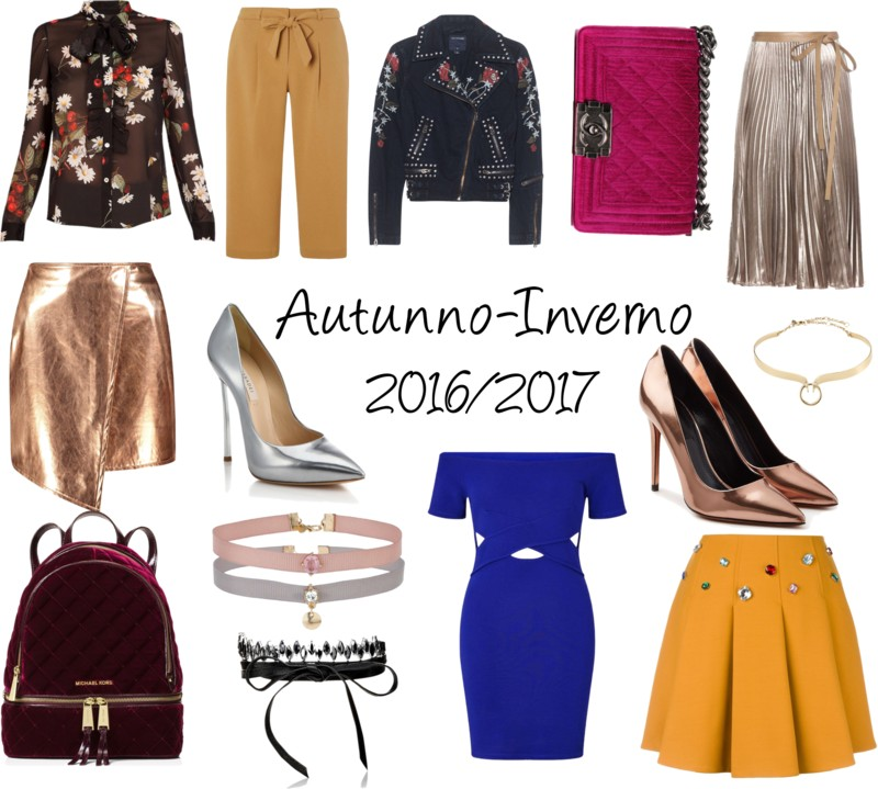 tendenze moda autunno inverno 2016 2017