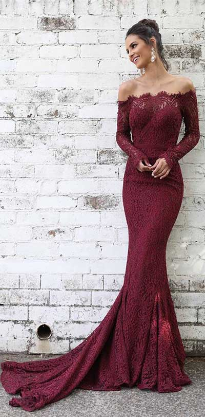 come vestirsi a capodanno 2019 long dress rosso