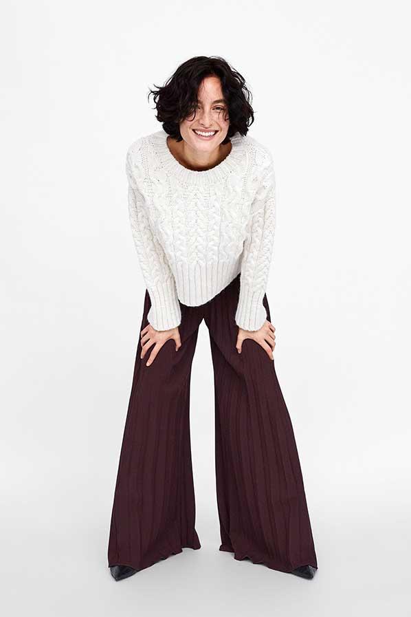 Saldi invernali online pantaloni palazzo
