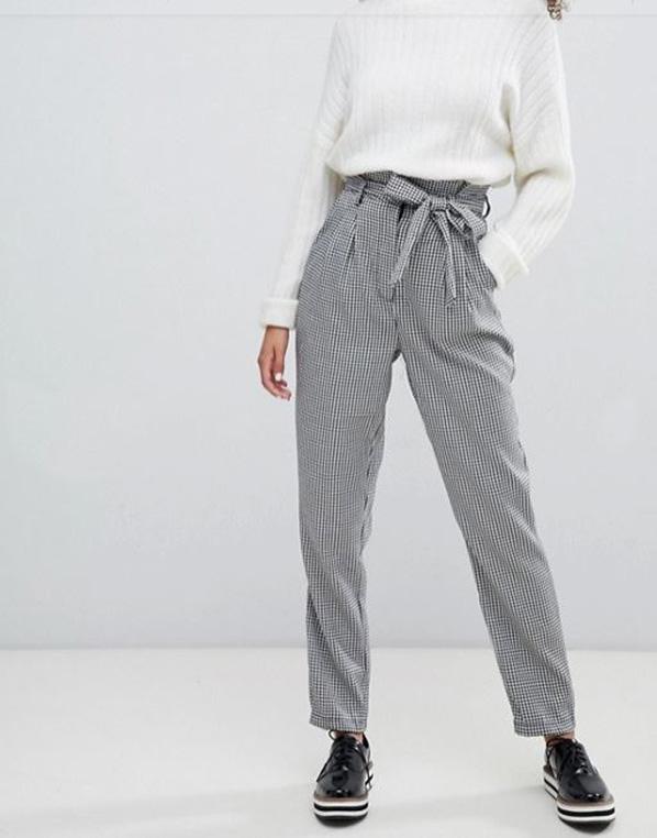 saldi invernali online pantaloni a vita alta